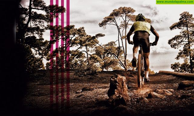 Aviso red de Senderos de La Palma por la Transvulcania Bike