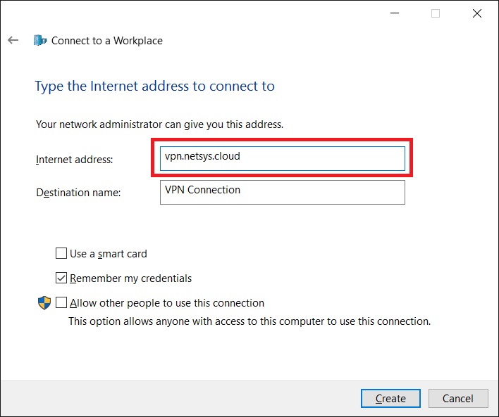 Cookie Boy: How to Configure Windows PPTP VPN Client on