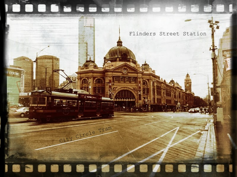 Flinders and City Circle tram, Melbourne