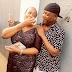 Loved up photo of Sir Shina Peters and his wife Sammie