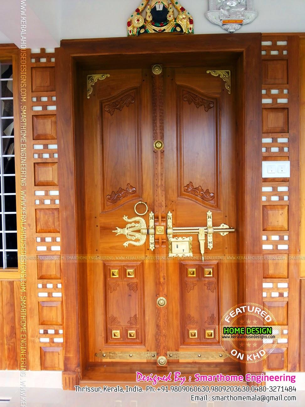 Kerala Style Door Designs Manichitrathazhu | Joy Studio ...