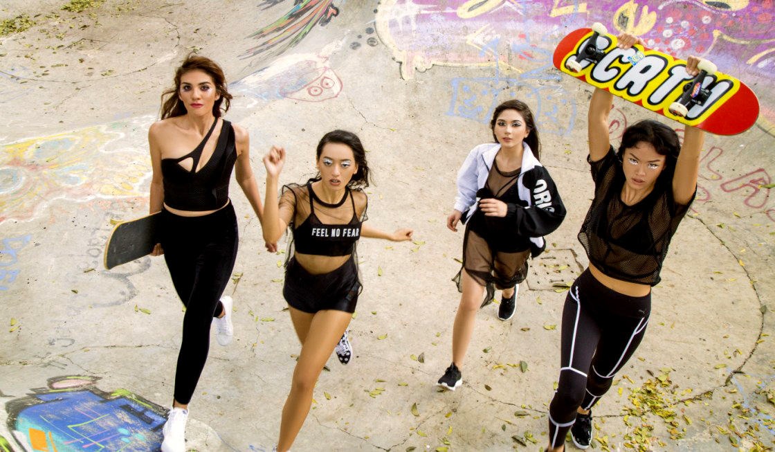 model seksi Elle Indonesia Jessica Milla