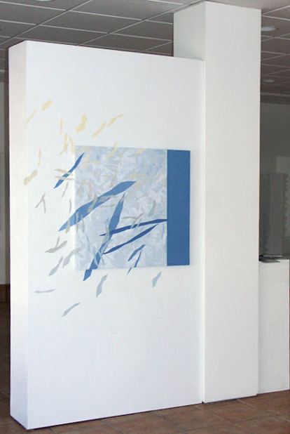 Expansion - Painting from the Fragments Series - Rosemary Marchetta