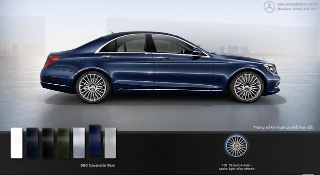 Mercedes S450 L Luxury 2018 là chiếc xe sedan hạng sang cỡ lớn được thiết kế vô cùng sang trọng, lịch lãm và đẳng cấp