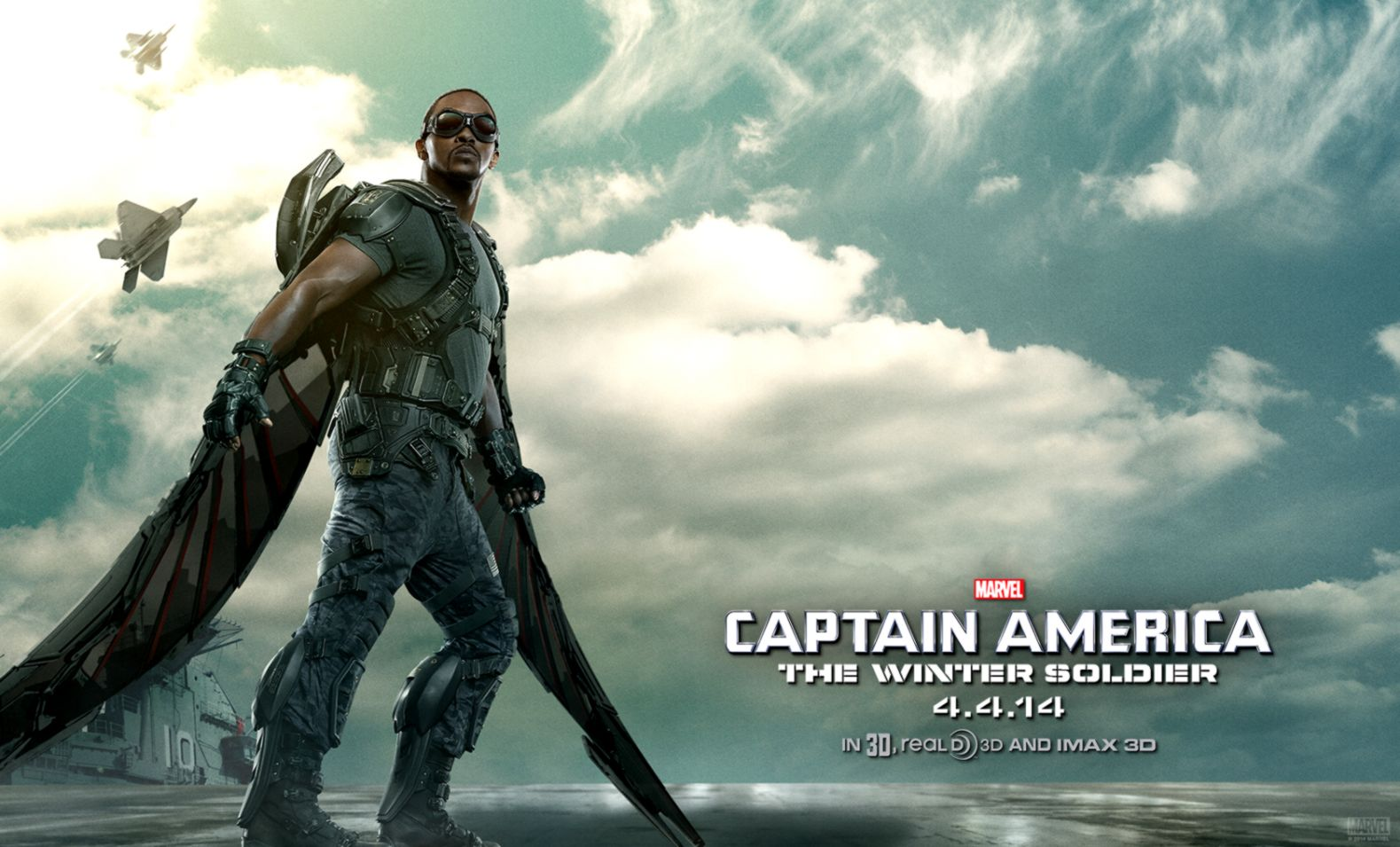 Captain America The Winter Soldier Anthony Mackie Wallpapers