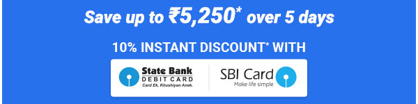 10% off on SBI Cards