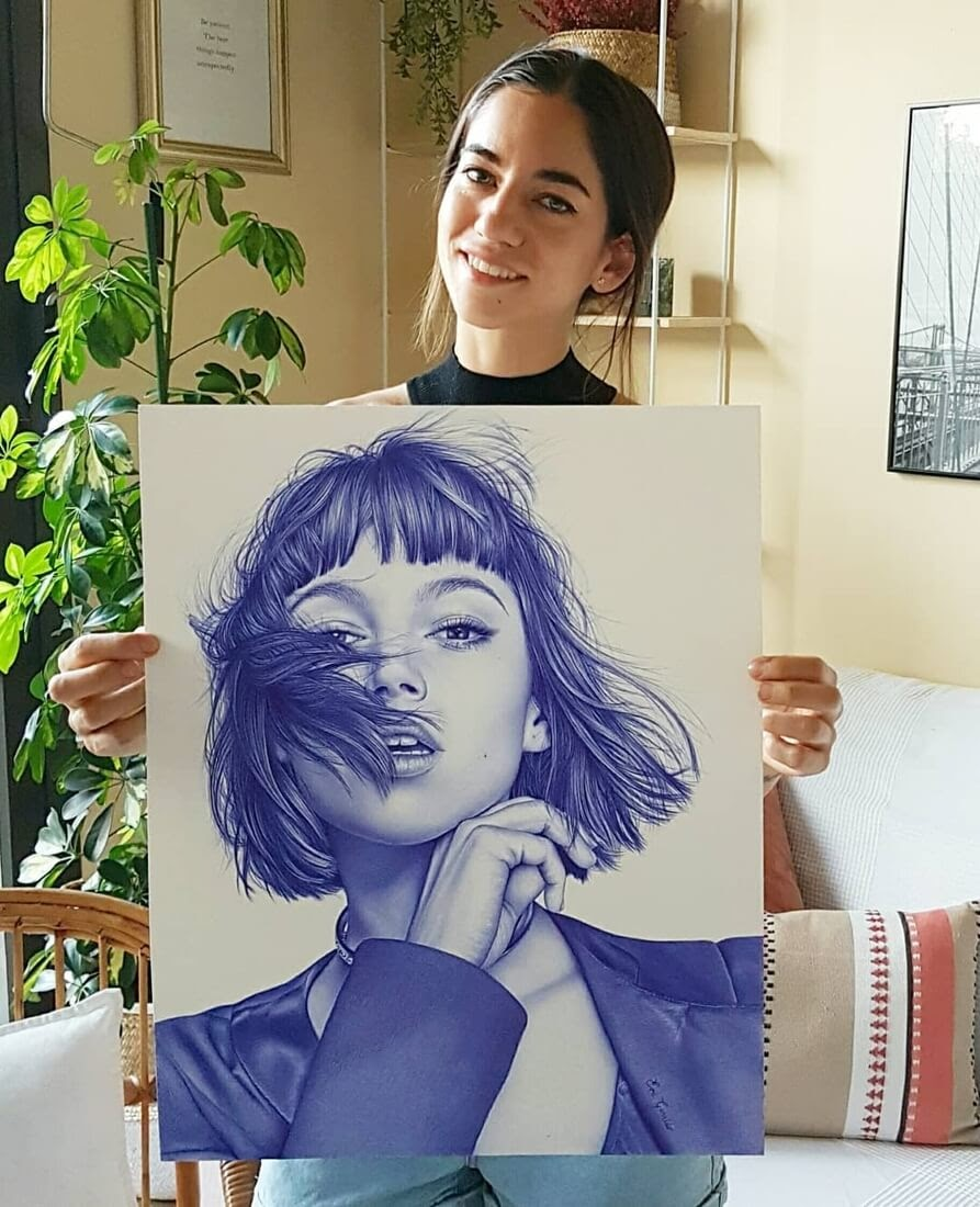 06-Ursulolita-Eva-Garrido-Ballpoint-Bic-Pen-Portrait-Drawings-www-designstack-co