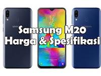 Samsung m20 spesifikasi dan harganya