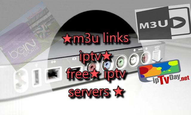 ★m3u links iptv★25/09/2017★free★ iptv servers ★