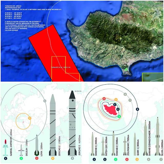 Αντιπυραυλική ομπρέλα πάνω από την Κύπρο