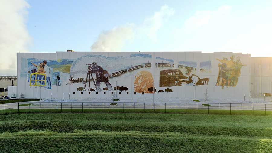 The Data Center Mural Project: A History of Connection