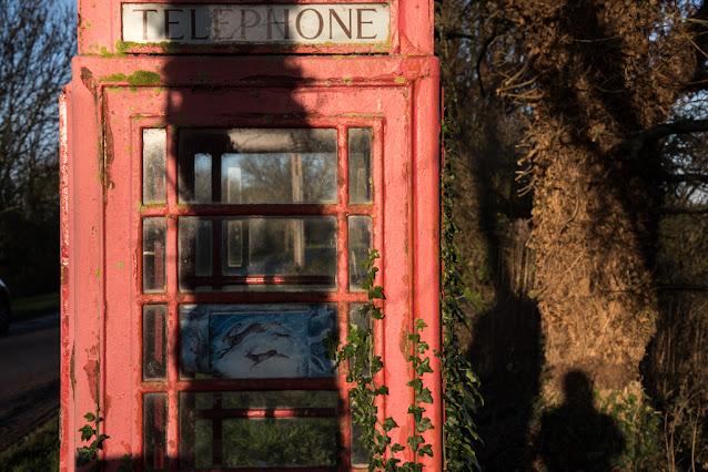 Disused phone boxed for public art gallery - Copyright Chris Goddard