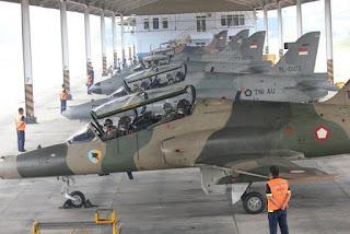 Persiapan Latihan  Angkasa Yudha TNI AU 2016