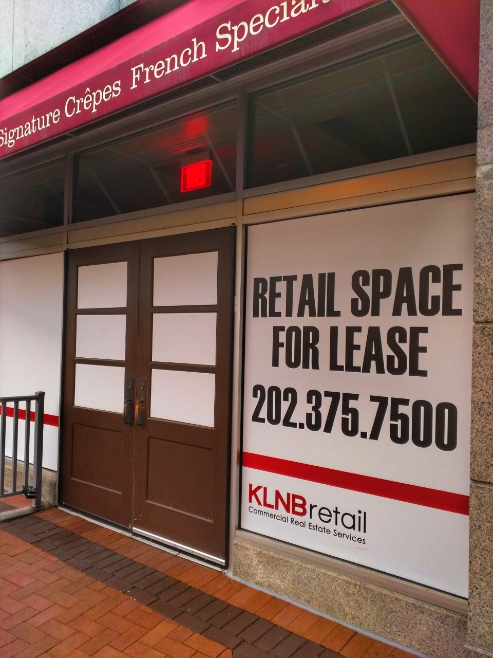 east moco: former la madeleine space for lease in silver spring