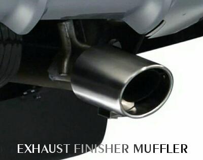 Exhaust Finisher Pajero sport