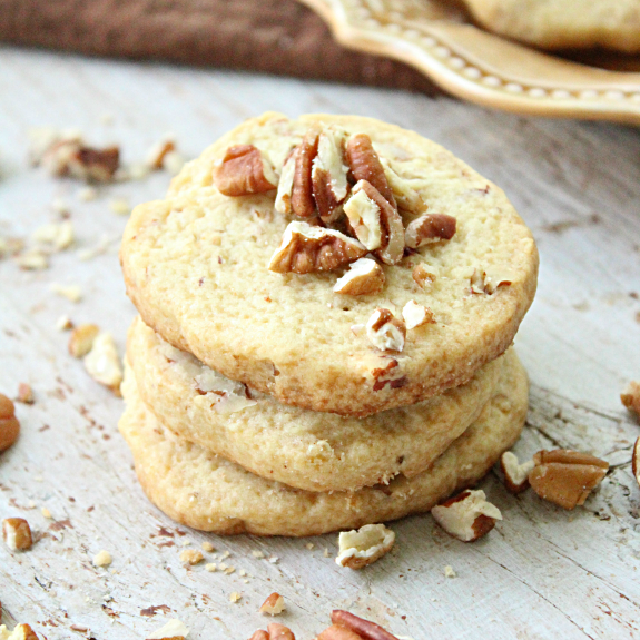 Slice n Bake Butter Pecan Cookies: Table for Seven