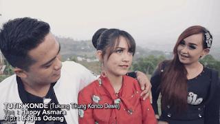 Lirik Lagu Tutik Konde (Tukang Tikung Konco Dewe) - Happy Asmara