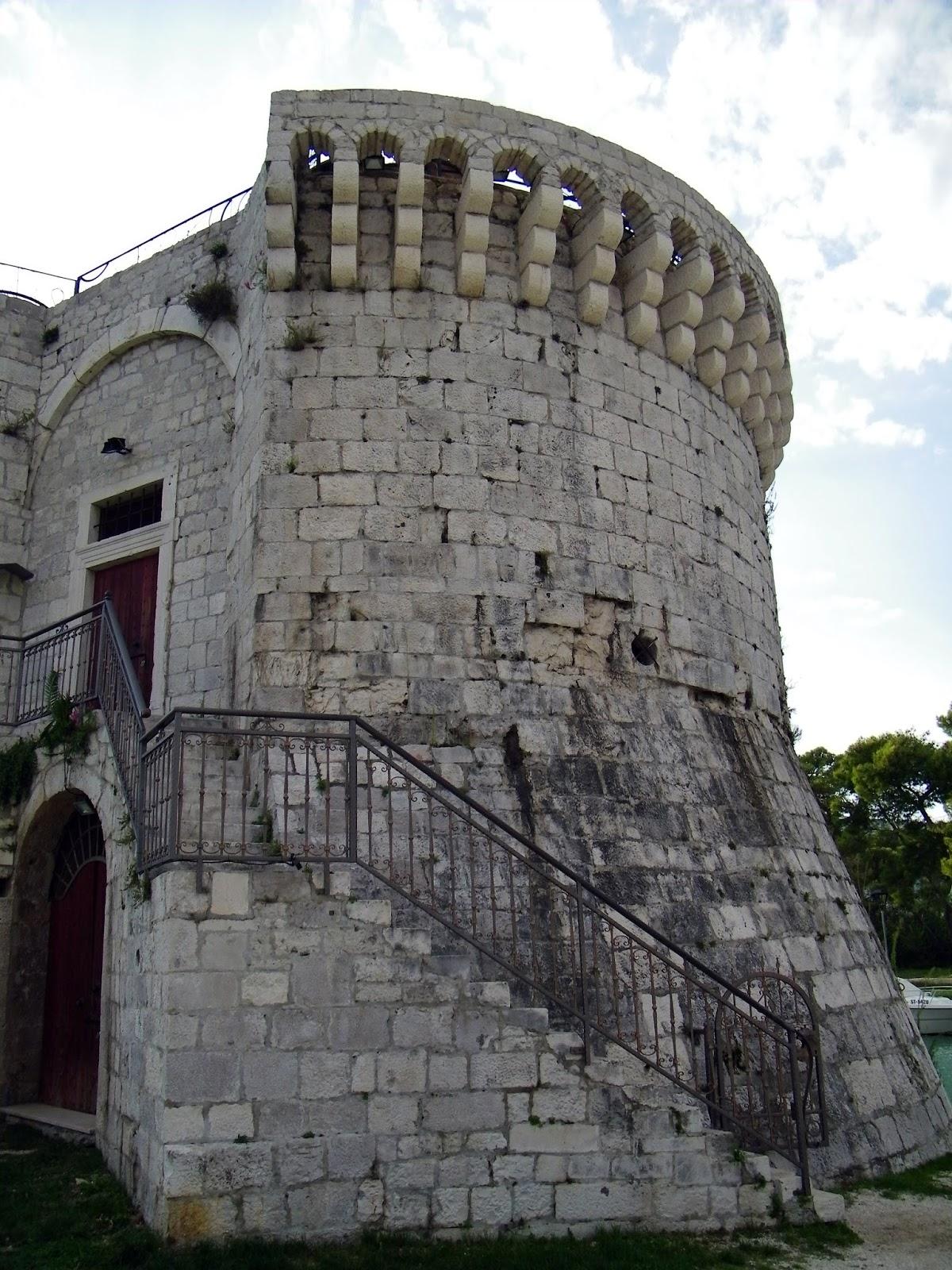 Trogir - Baszta św. Marka