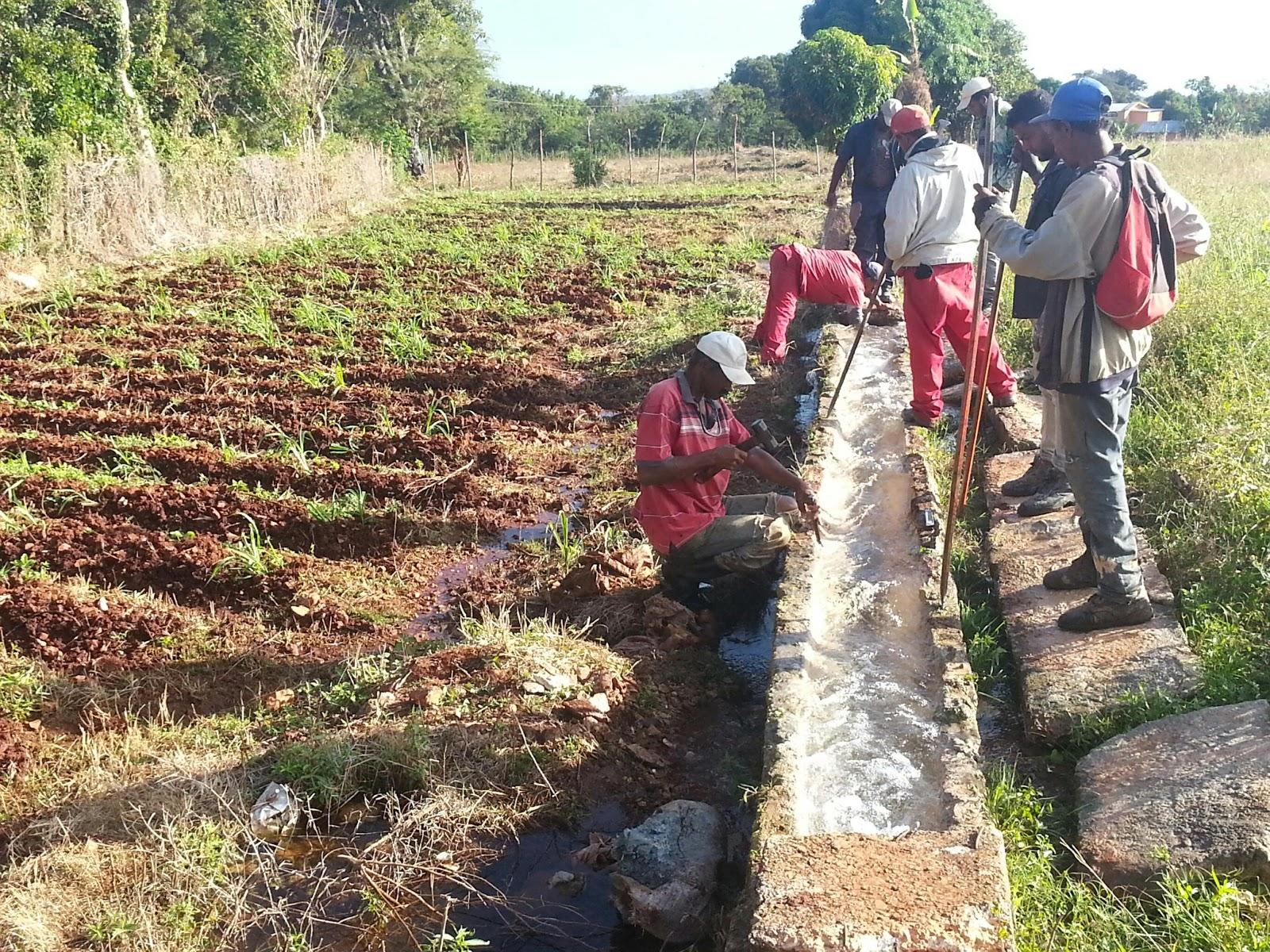 El consorcio azucarero central quita el agua a agricultores de La Guázara
