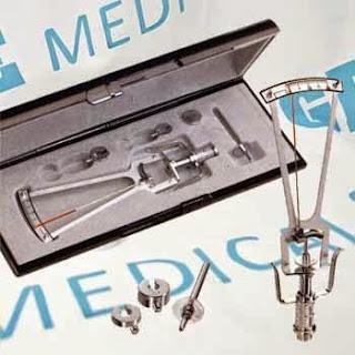jual alat periksa tekanan intra okuler mata tonometer schiotz