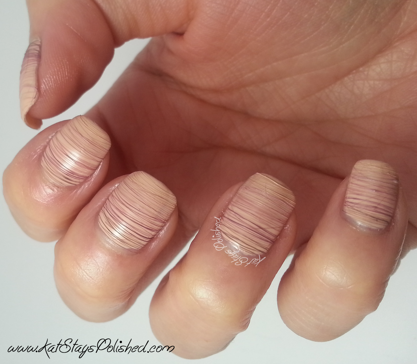 Zoya Naturel - Ombre Spun Sugar Nail Art - No Top Coat | Kat Stays Polished