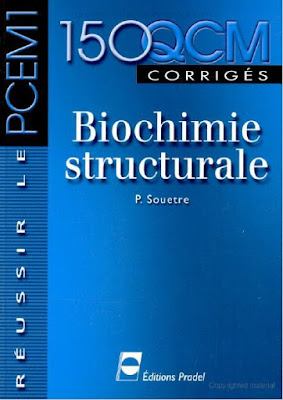 Télécharger Livre Gratuit Biochimie Structurale 150 QCM pdf