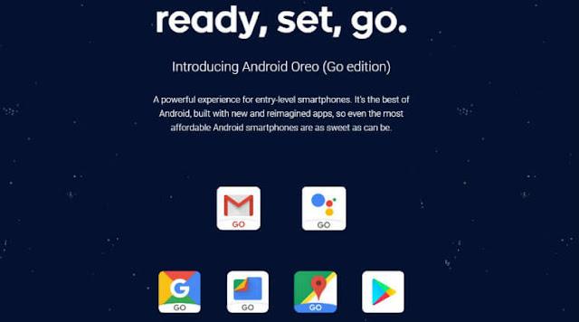 اخيرا اصدار Android Oreo Go للاجهزة الضعيفة والاقل من المتوسطة