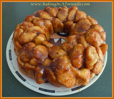 Monkey Bread, an ooey gooey, cinnamon treat | recipe developed by www.BakingInATornado.com | #recipe #breakfast