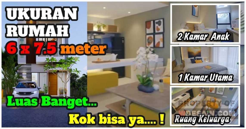 Desain Rumah Minimalis 2 Lantai Ukuran 6x7 Desain Rumah Minimalis