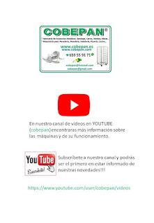 """CANAL de Videos en Youtube; """"COBEPAN""""(subscríbase)"""