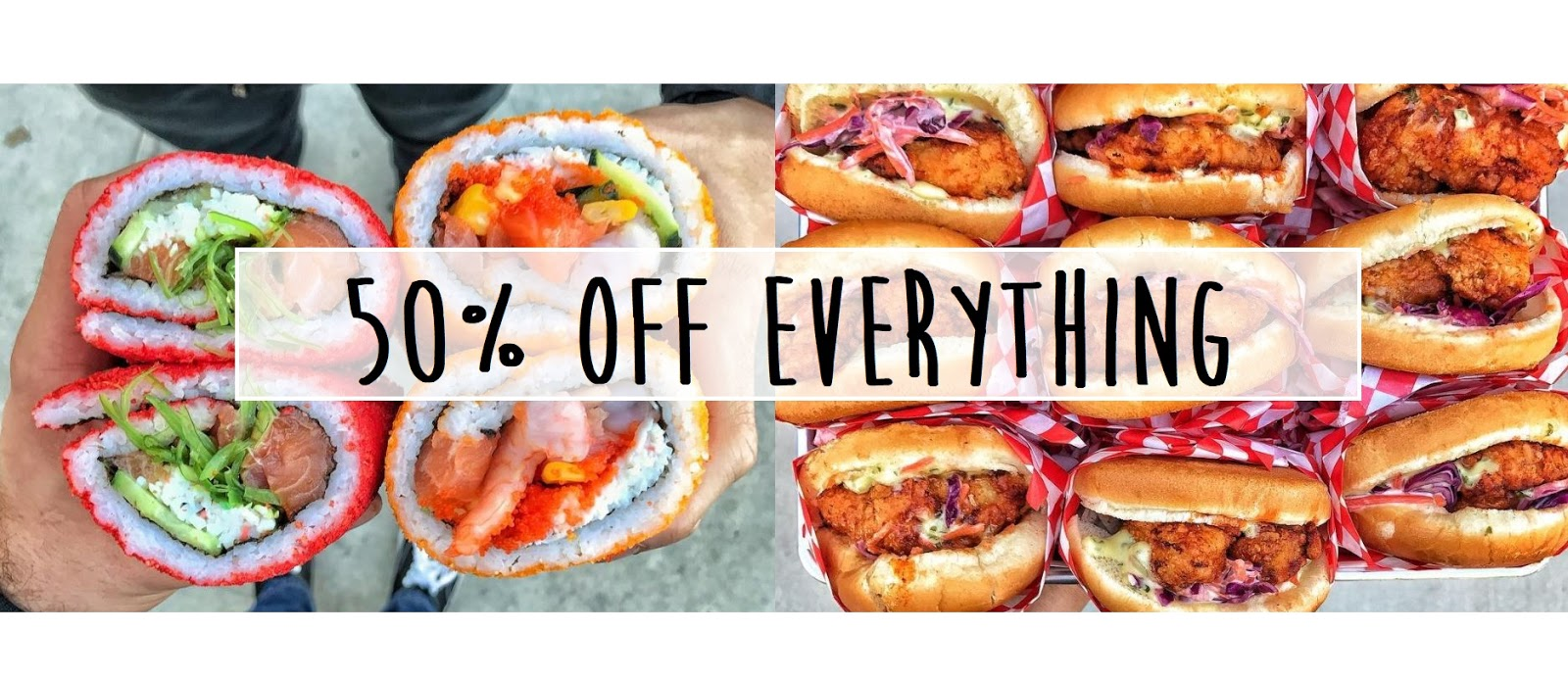 April 7 | Hot Chicks Kitchen and The Lowkey Poke Joint Grand Opens with 50% Off Everything