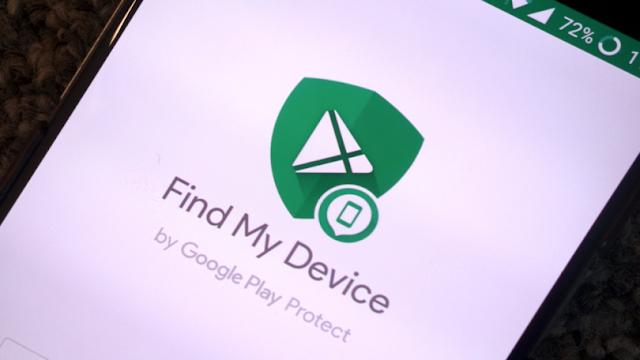 مميزات تطبيق البحث عن الهاتف الضائع والمسروق Find My Device للاندرويد