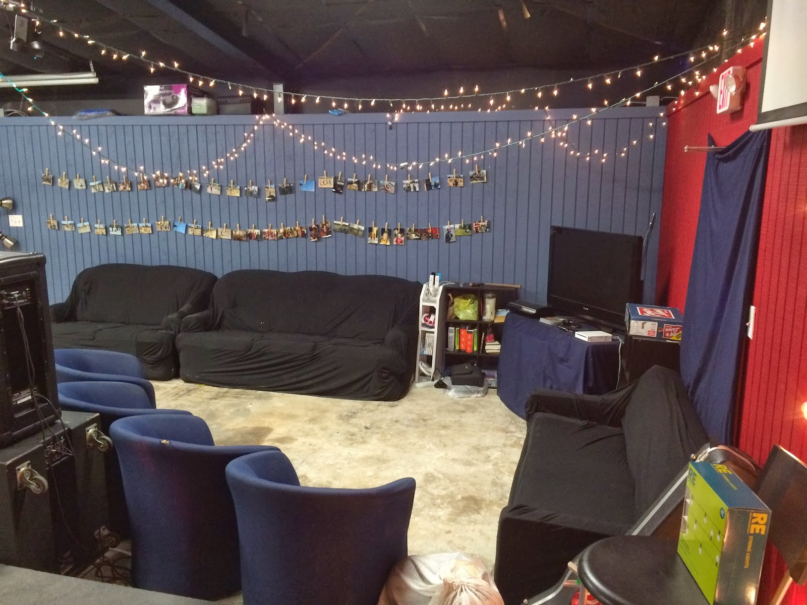 Modern Ministry Youth Room On A Budget For A Normal Size