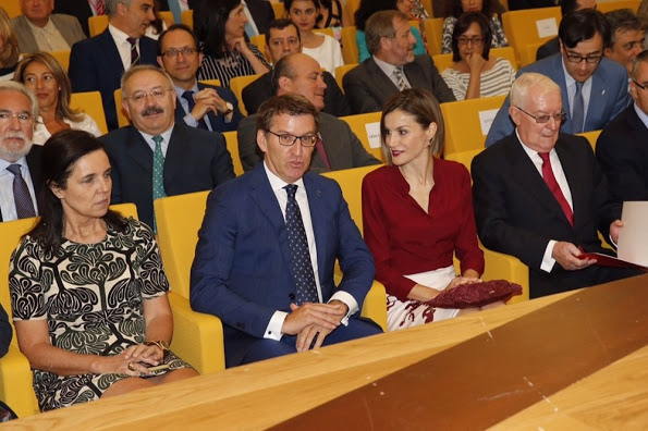 Queen Letizia Opened The Annual Meeting Of Cervantes Institute Directors