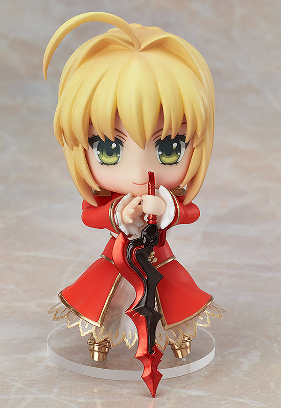 Figure Unboxing and Review: Nendoroid #358: Saber Extra