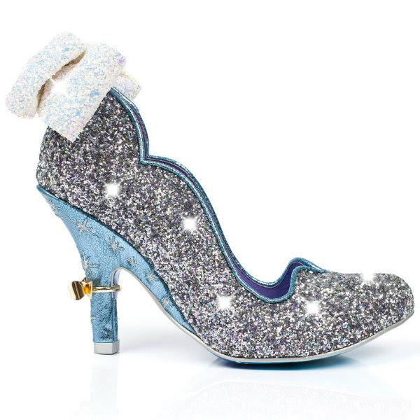 irregular choice disney cinderella sparkling slipper