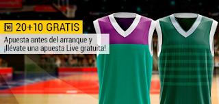bwin promocion 10 euros Unicaja vs Zalguiris 14 noviembre