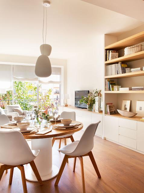 Vivienda bien aprovechada de 80 m2
