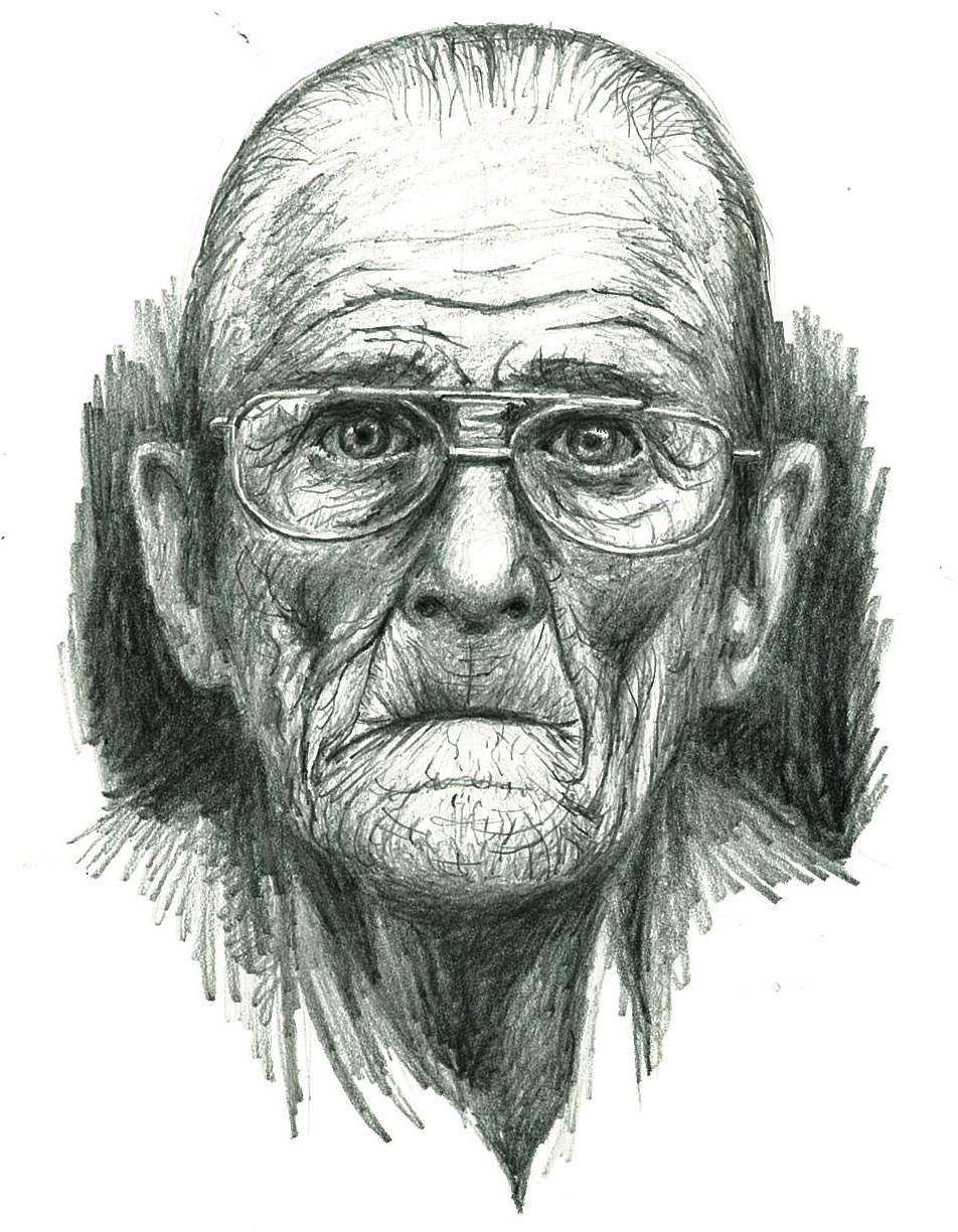 Old man sketch