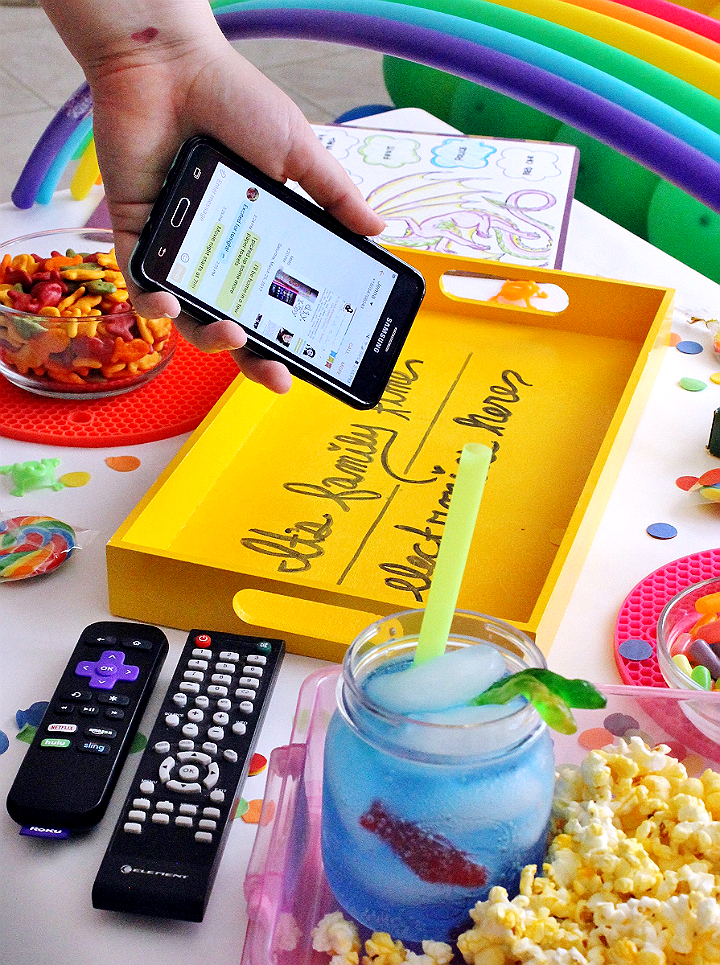 All electronics here! Tray for your next movie night- Max #YourTaxCash with @Walmart Family Mobile and enjoy a FREE VUDU movie credit ($7 value, equal to a new release rental) every month, per line. #AD