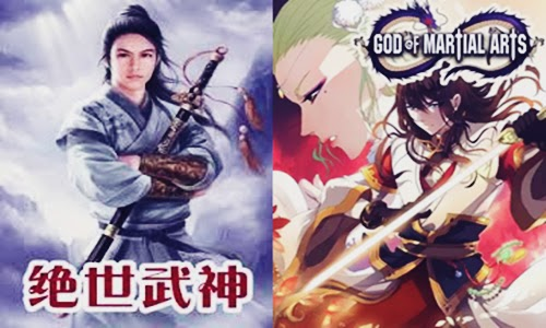 Baca Manga God of Martial Arts Light Novel Karya Jing Wu Hen Sub Indonesia