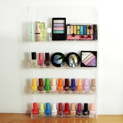 Buy the Acrylic Nail Polish Rack at Nile Corp