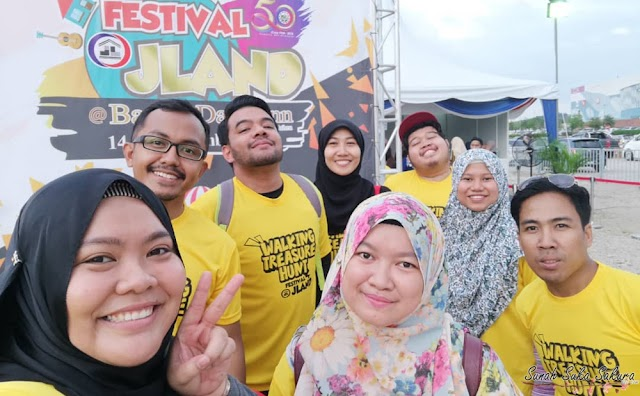 First Time Join Treasure Hunt @ Festival Johor Land 2018