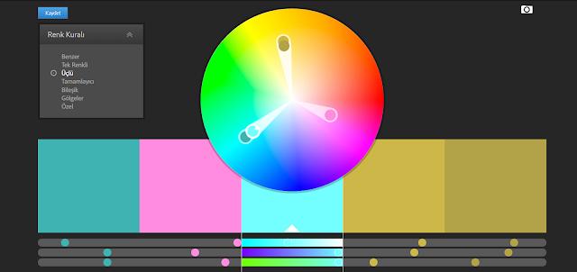 uyumlu renk tablosu