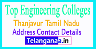 Top Engineering Colleges in Thanjavur Tamil Nadu