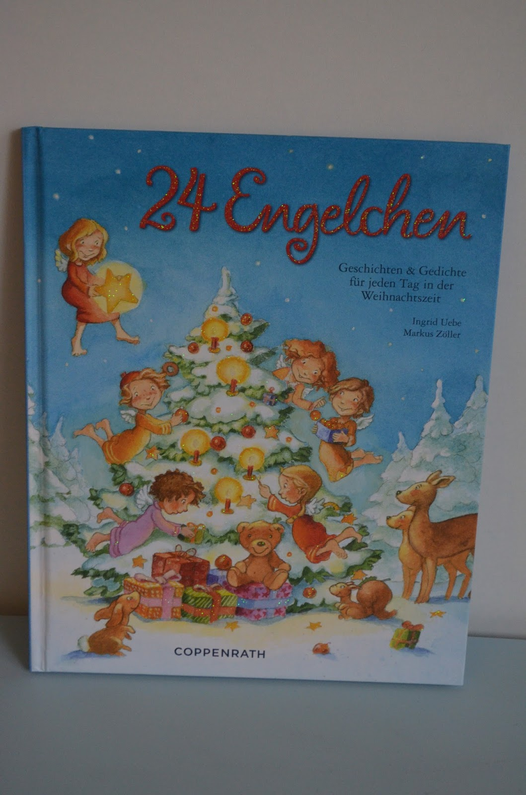 Mutter Kater Kind Adventskalender Buch 24 Engelchen