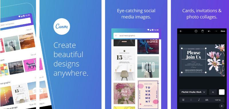 Canva Aplikasi Desain Grafis untuk Membuat Konten / Poster ...