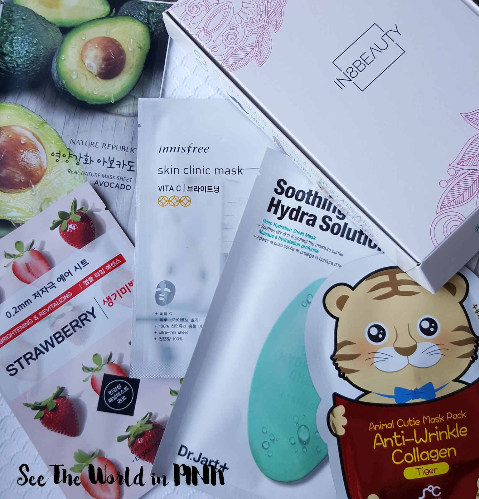 January 2017 In8Beauty - New Canadian Mask Subscription Unboxing and Review
