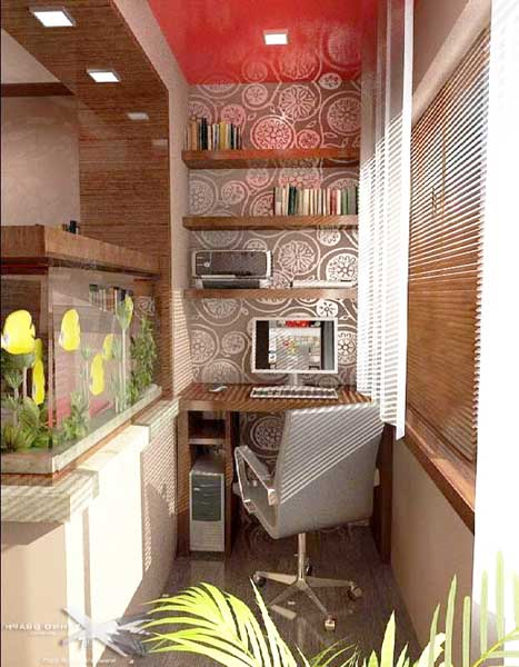 Decoration And Ideas 11 Ideas For Making A Balcony Office