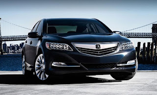 Honda Acura RXL Specs